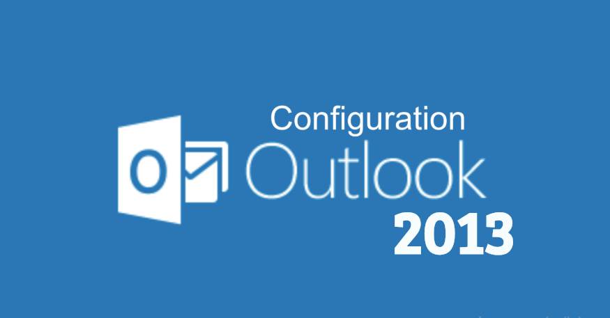 Outlook 2013 configuration
