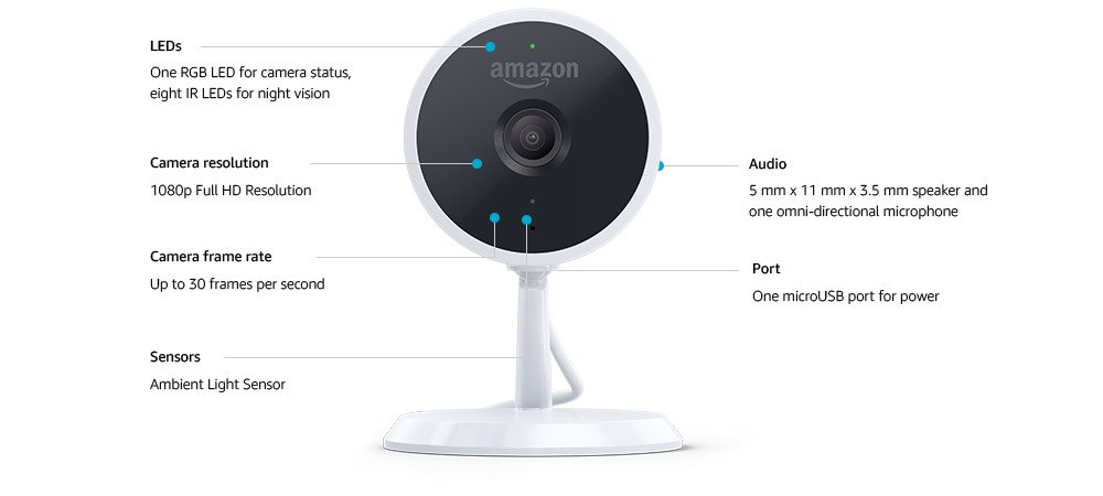 Amazon-Cloud-Cam-Technical-Specifications A Complete User Manual Guide For Amazon Cloud Camera