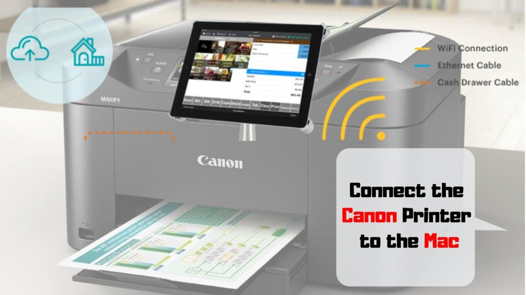 Connect-the-Canon-Printer-to-the-Mac-1024x576 Get Started For Canon IJ Setup To Print Quickly From Canon Printer