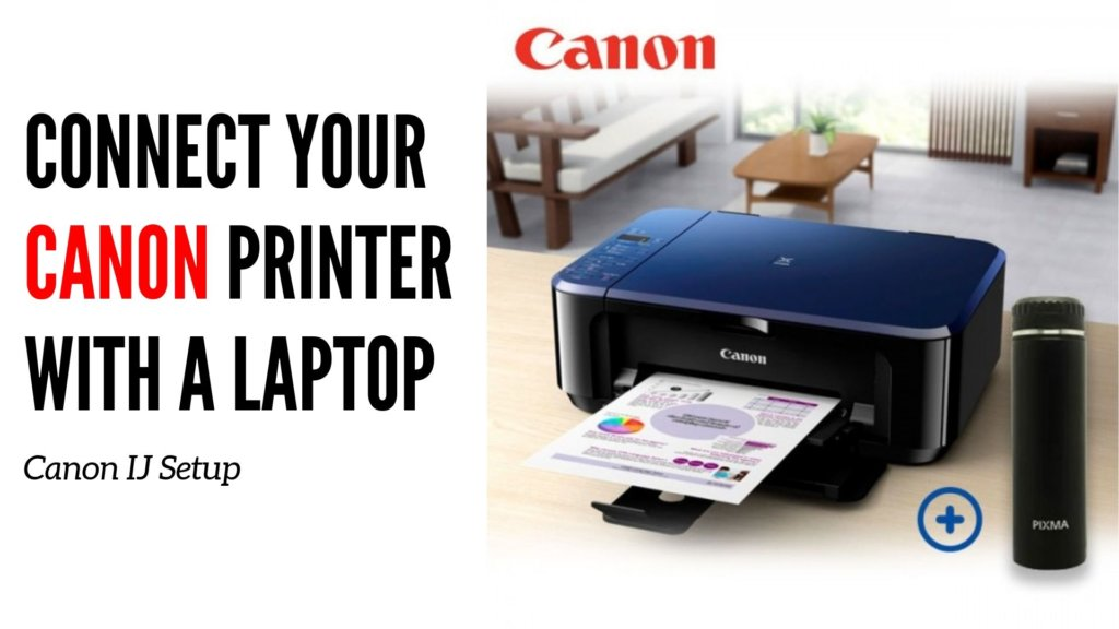 Connect-your-Canon-Printer-with-a-Laptop-1024x576 Get Started For Canon IJ Setup To Print Quickly From Canon Printer