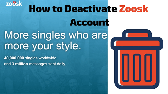 Explanations Behind the Vast Majority of Individuals Quit From Zoosk Account