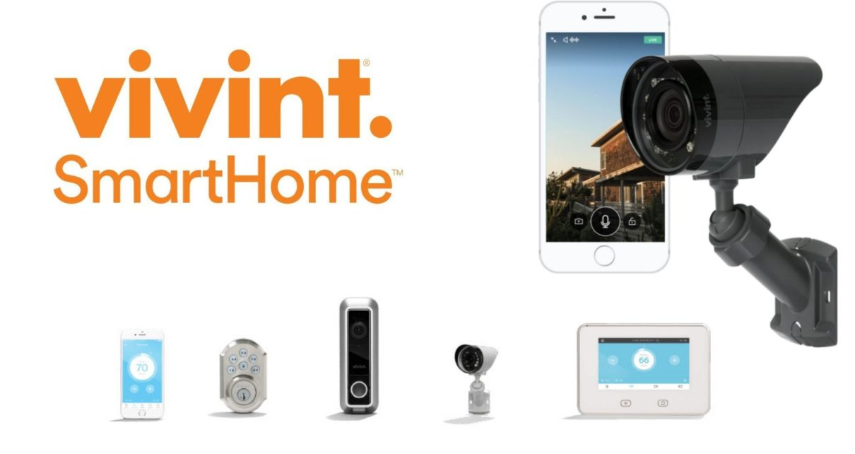 Vivint smart home security camera
