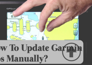 how to update garmin gps manually