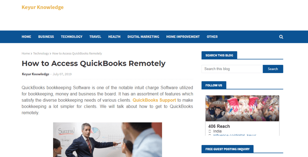 remote quick books