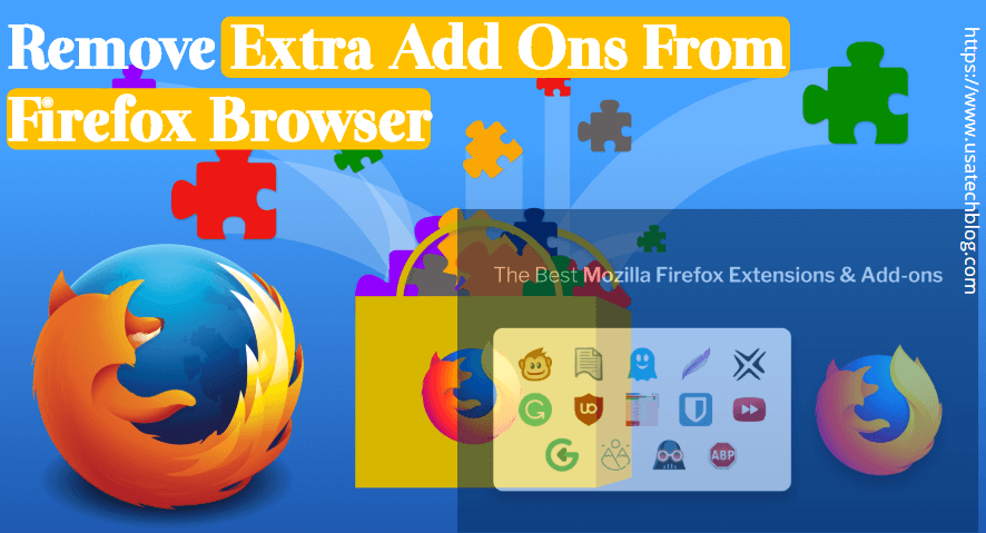 remove-extra-add-ons-from-firefox-browser How to Fix Mozilla Firefox Freezing Up Issue Permanently?