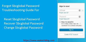 Forgot SBCglobal Email Password? Learn How to Reset , Recover or Change it