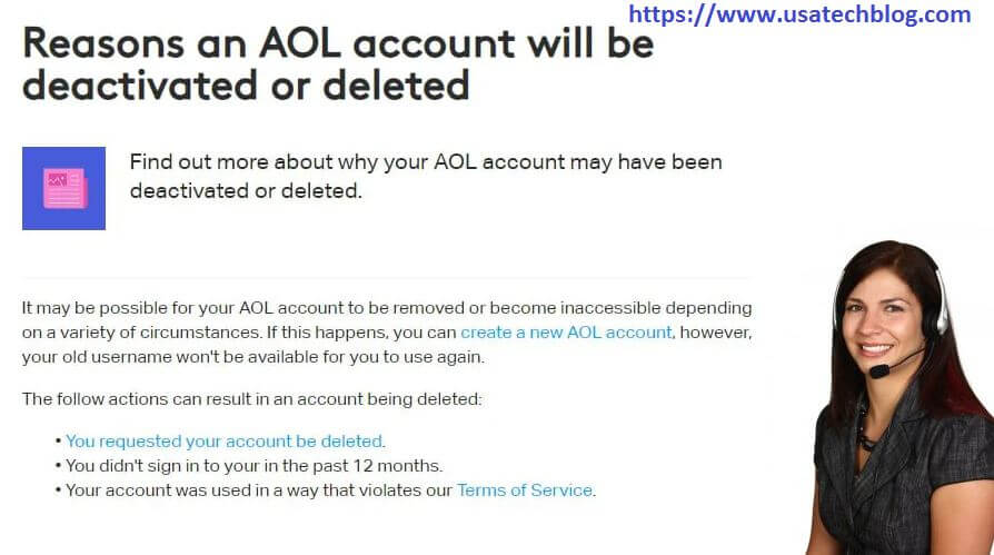 Why is Your AOL Account Deactivated and How to Reactivate AOL Email
