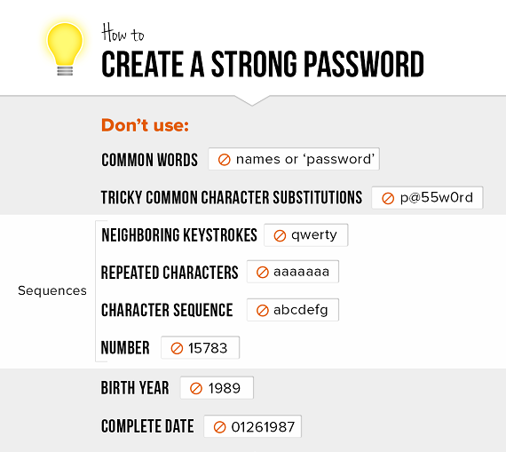 How to Create Secure Password