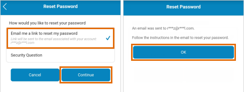 How to Reset att email password
