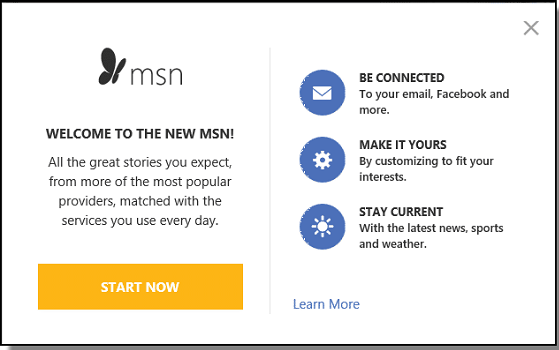 Get Information About How to Restore MSN Homepage and make MSN my homepage permanently