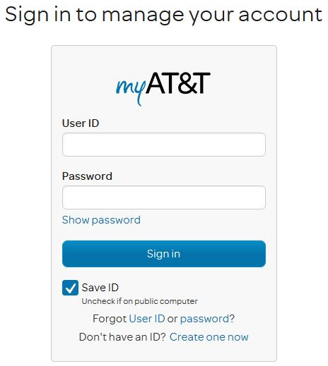Log in Into AT&T Email Powered By Yahoo!