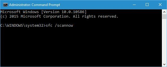 corrupt Windows registry