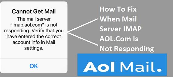 imap.aol.com is not responding