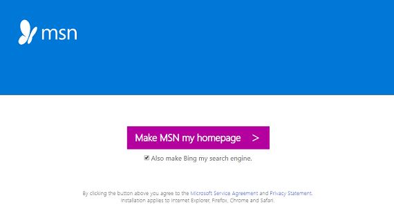 restore msn homepage on mozilla firefox