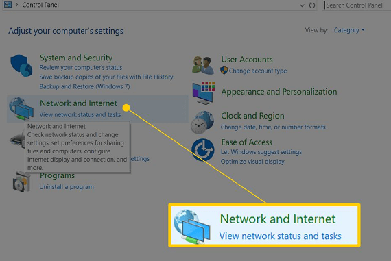 Check your network and internet connections