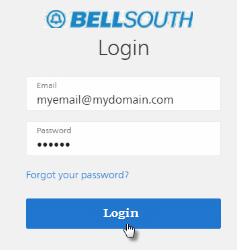 click on sign in option to login bellsouth email