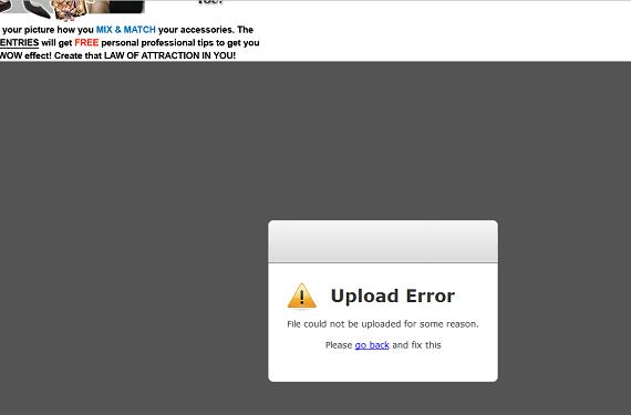 upload error