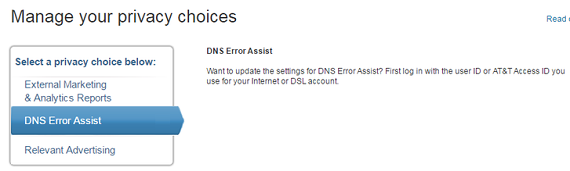 at&t email dns issues